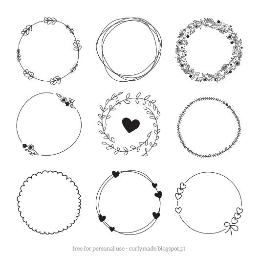 banner transparent library Rustic wreath clipart. Displaying hand drawn wreaths