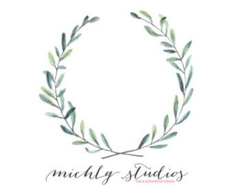 clipart free download Image result for watercolour. Rustic wreath clipart