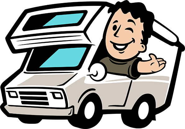 jpg transparent library Rv clipart.  collection of cartoon.