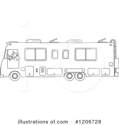 image library Motorhome Clipart