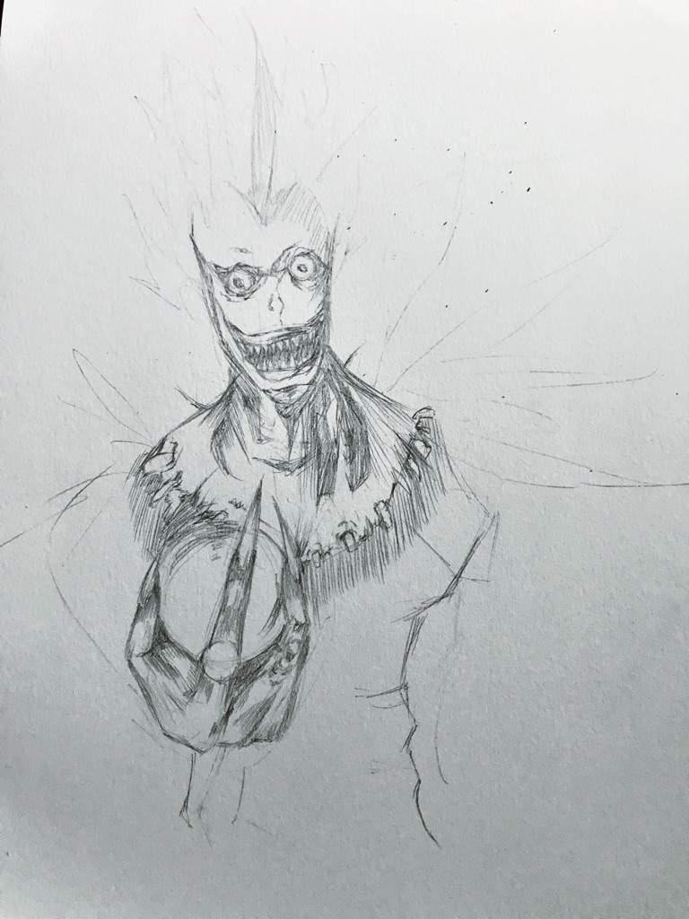 png Ryuk Shinigami Drawing
