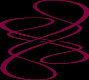 vector download Maroon Curve Lines Clip Art at Clker