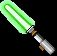 png transparent library Yoda lightsaber . Saber clipart