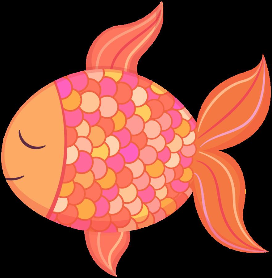clipart freeuse download Saber clipart cav. Peix taronja peces pinterest