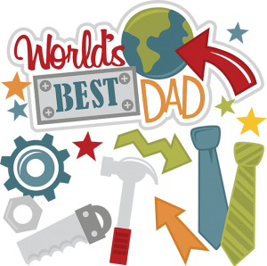 png stock World s best dad. Saber clipart cav