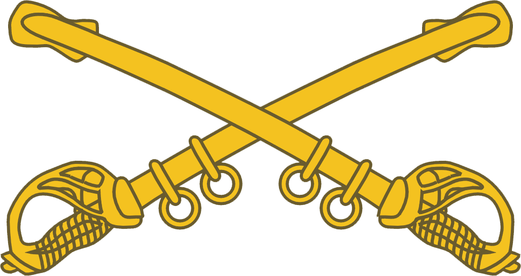 picture download Saber clipart cav. United states army branch