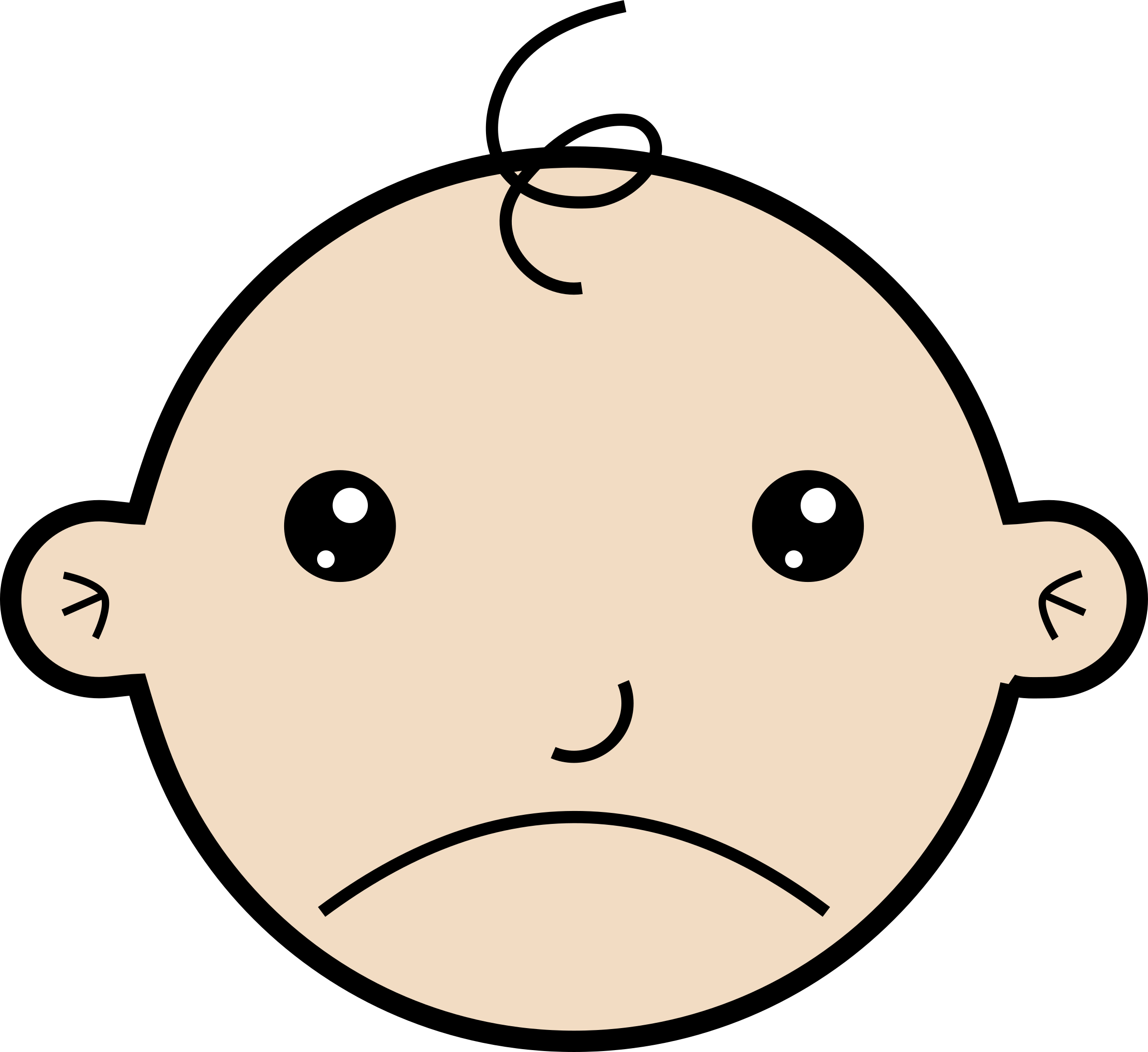 picture free Sad baby big image. Sadness clipart animated