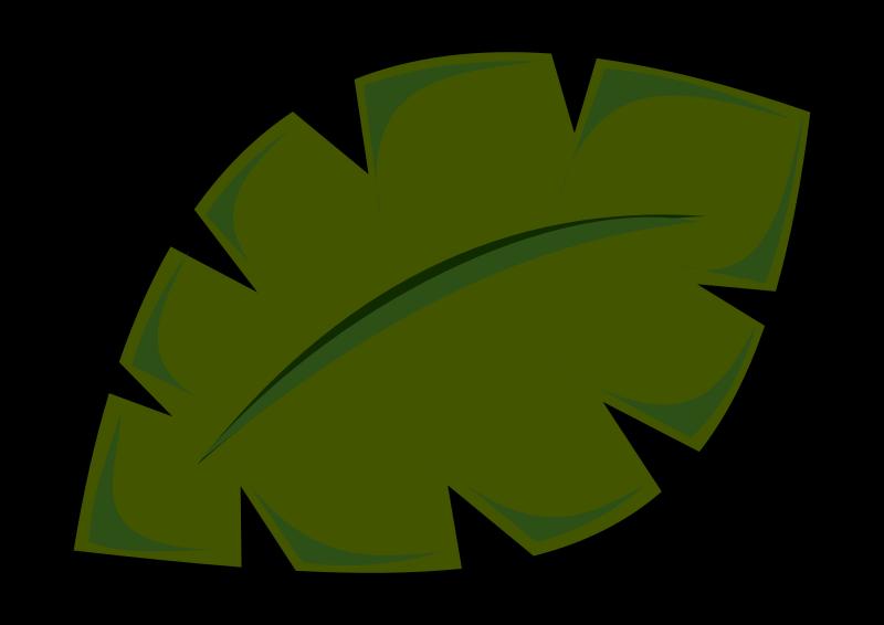 image freeuse library Jungle Leaf By Stevepetmonkey Jungle Style Leaf