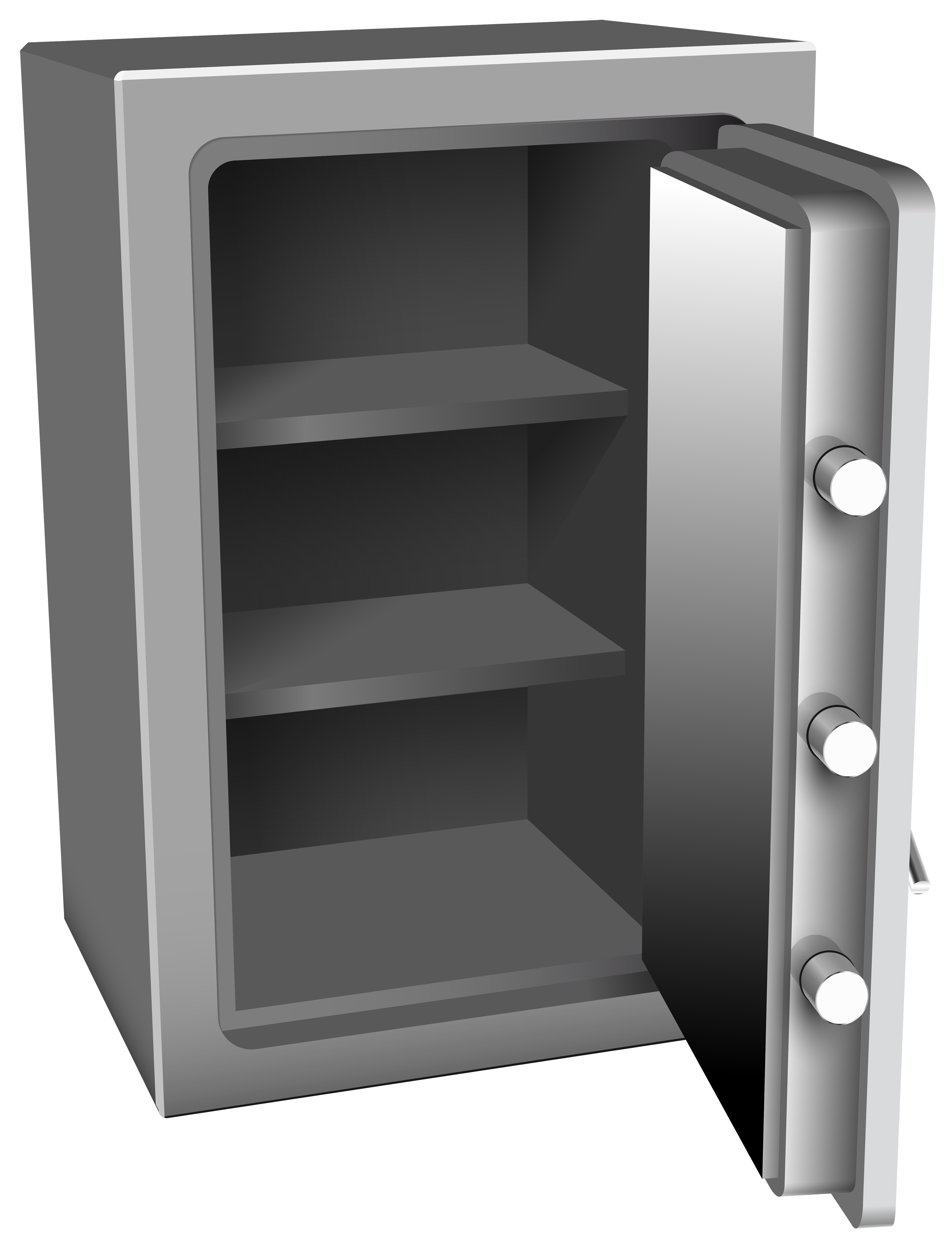 clip freeuse download Open silver png clip. Safe clipart.