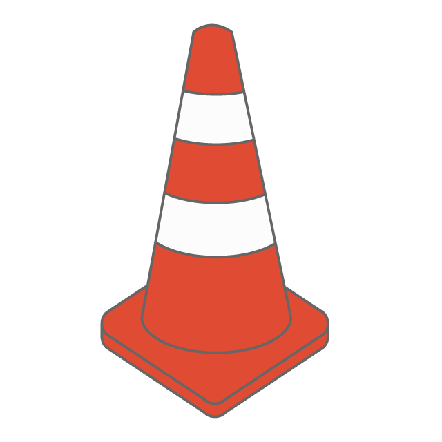 royalty free Color cone
