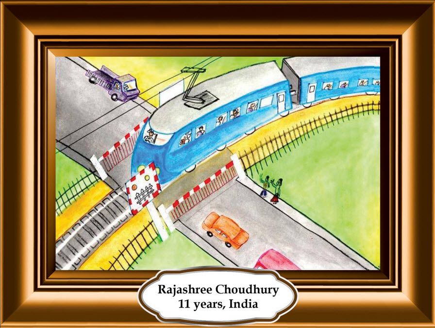 clipart library library Kids submit your rail. Safety drawing.