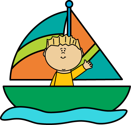 clipart transparent Green Sailboat Clipart