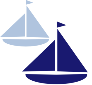 banner download Sailboat silhouette clip art. Sail clipart 3 boat.