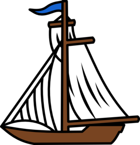 png free Boat svg 2d cartoon. Sail clip art at