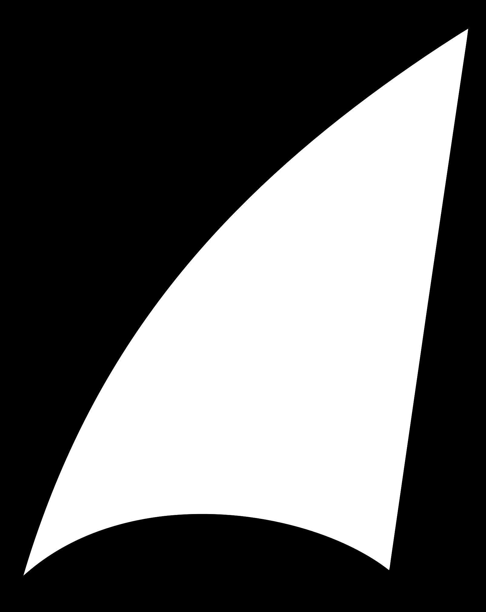 clip library download Sail clipart. Shark fin abstract big.