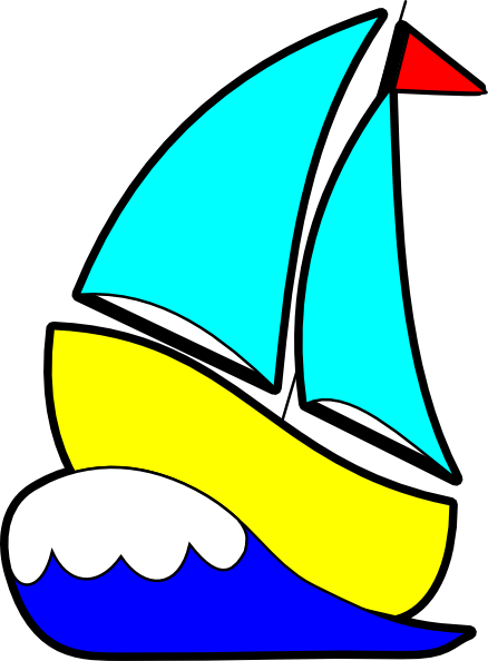 clip transparent library Sail big sailboat free. Yacht clipart cartoon