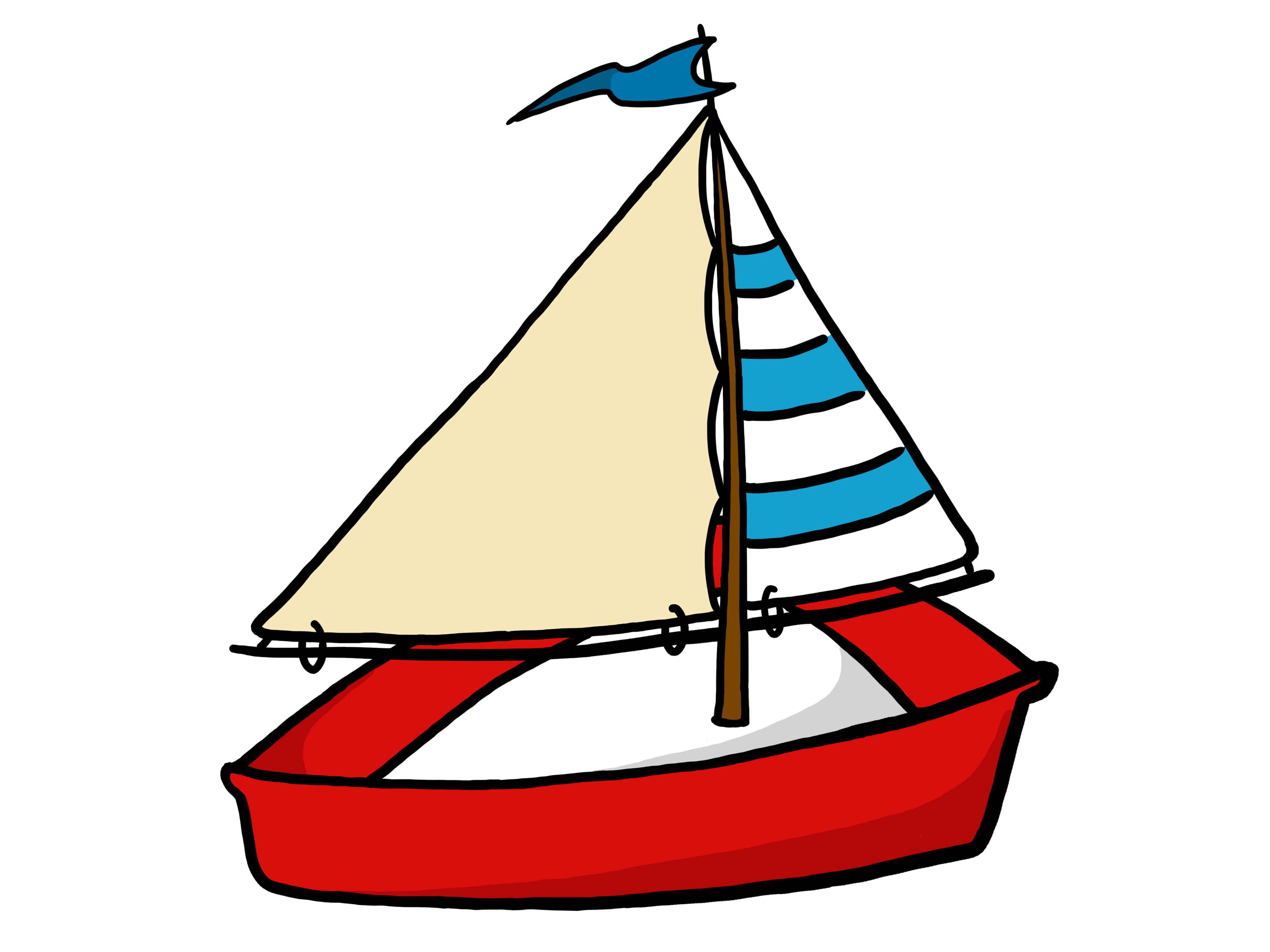 vector download Yacht clipart. Of a sailing boat