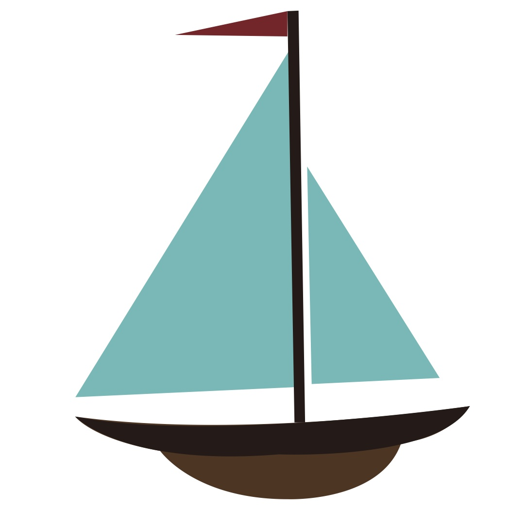 clip stock Free cartoon sailboat download. Yacht clipart simple boat