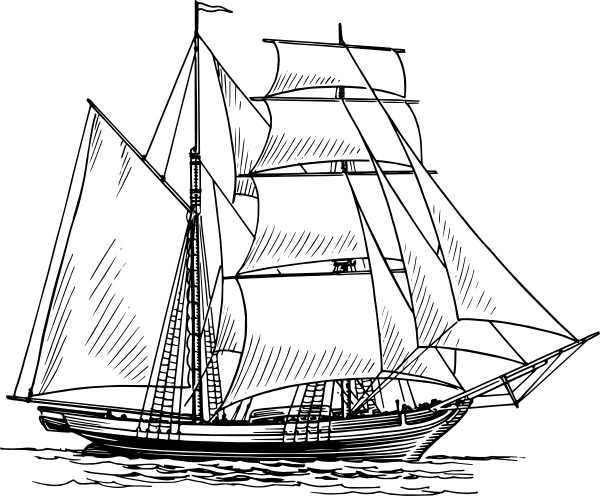 png transparent download Old Ship Clip Art