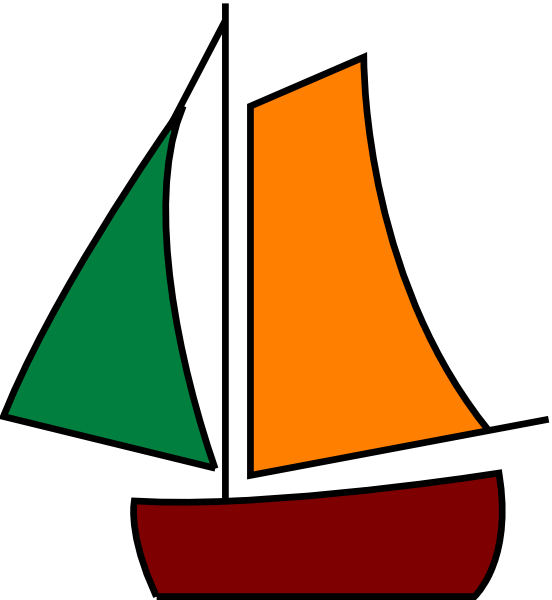 svg freeuse stock Sailing Boat White Clip Art at Clker