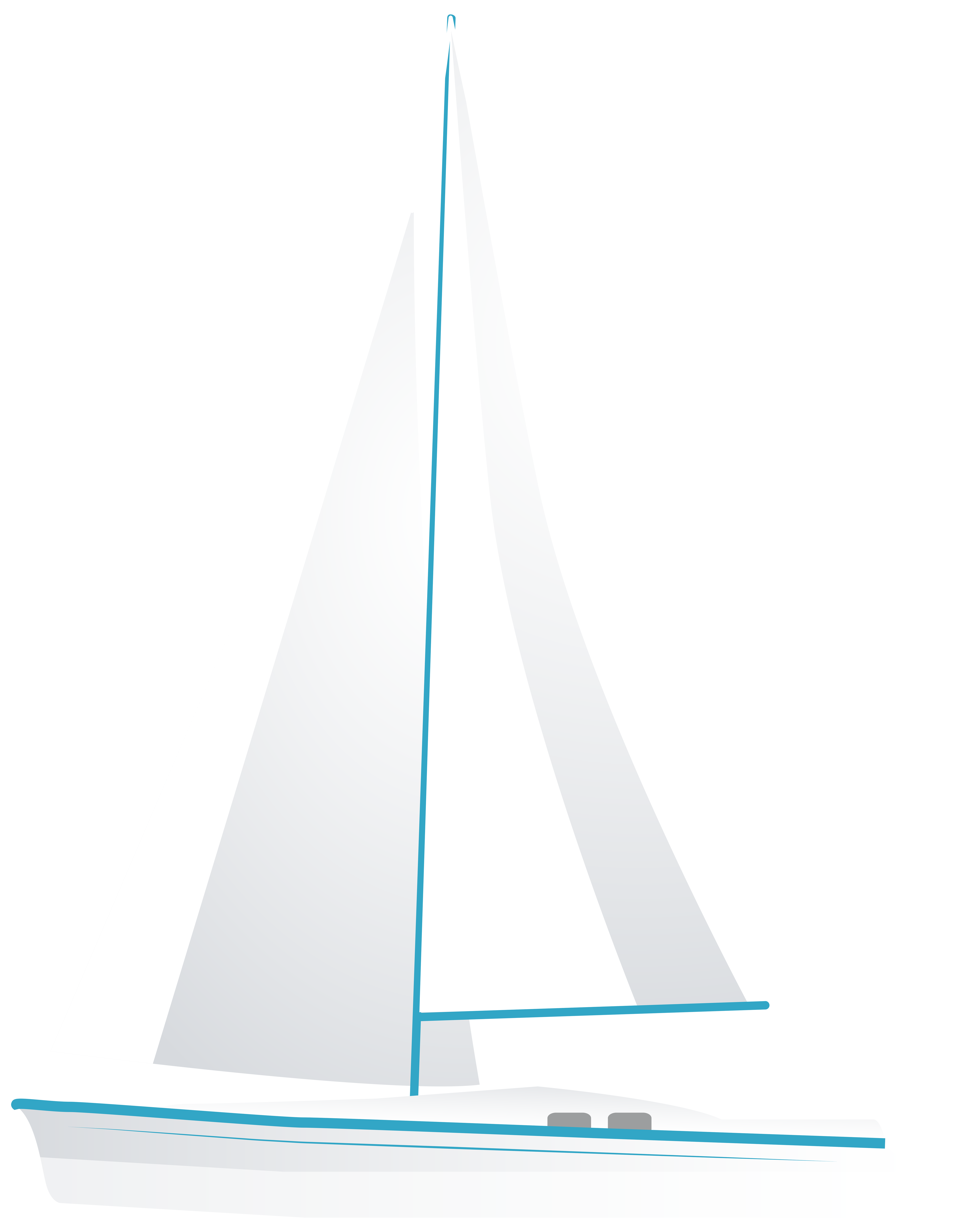 picture freeuse library White sailboat png clip. Yacht clipart simple boat