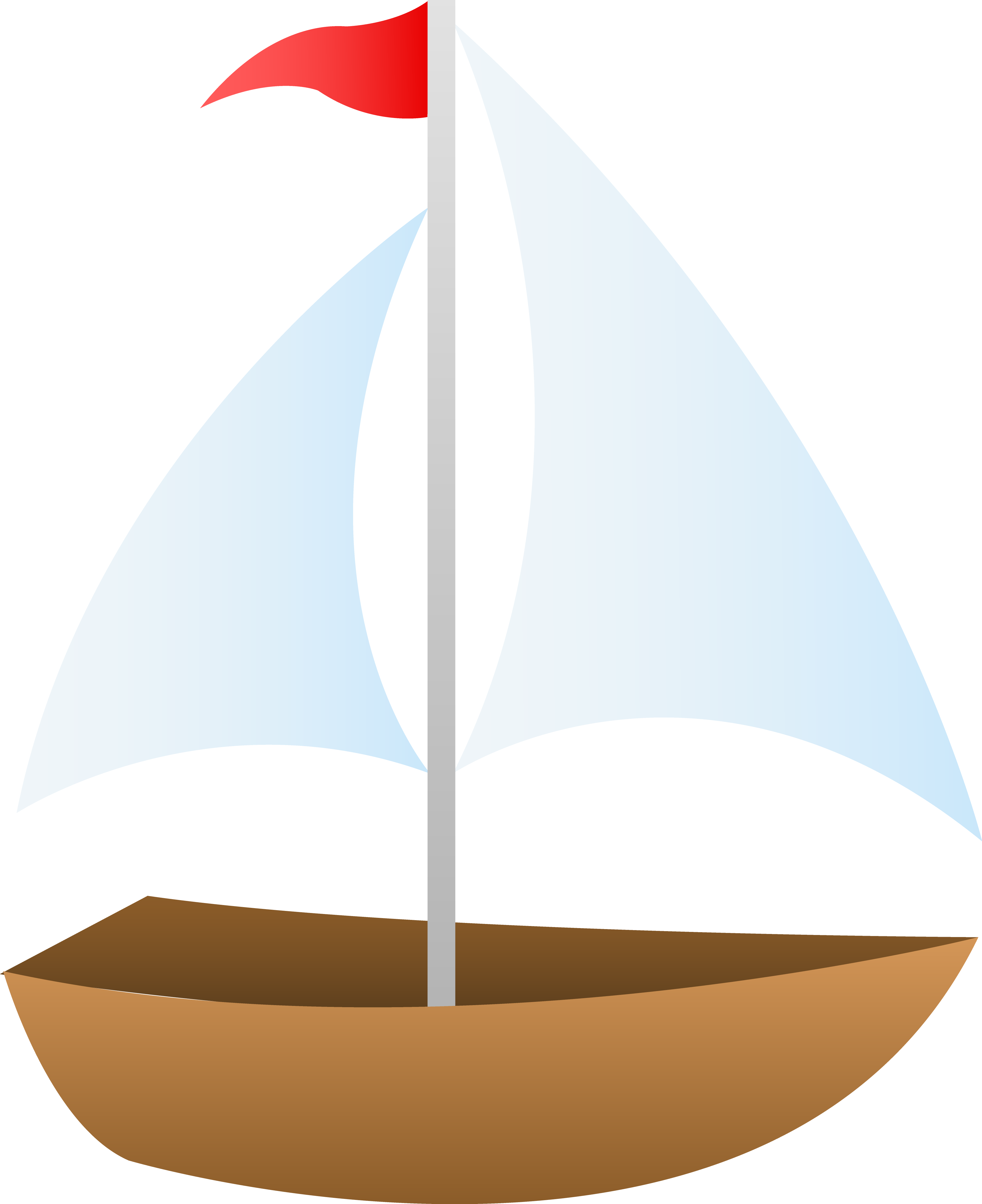 clipart black and white library Yacht clipart green boat. Red sailboat free