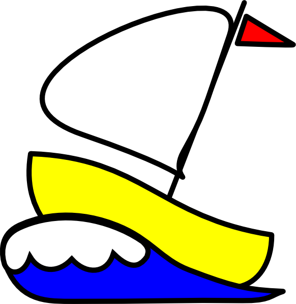 vector transparent Yacht clipart coloring. Number sailboat clip art