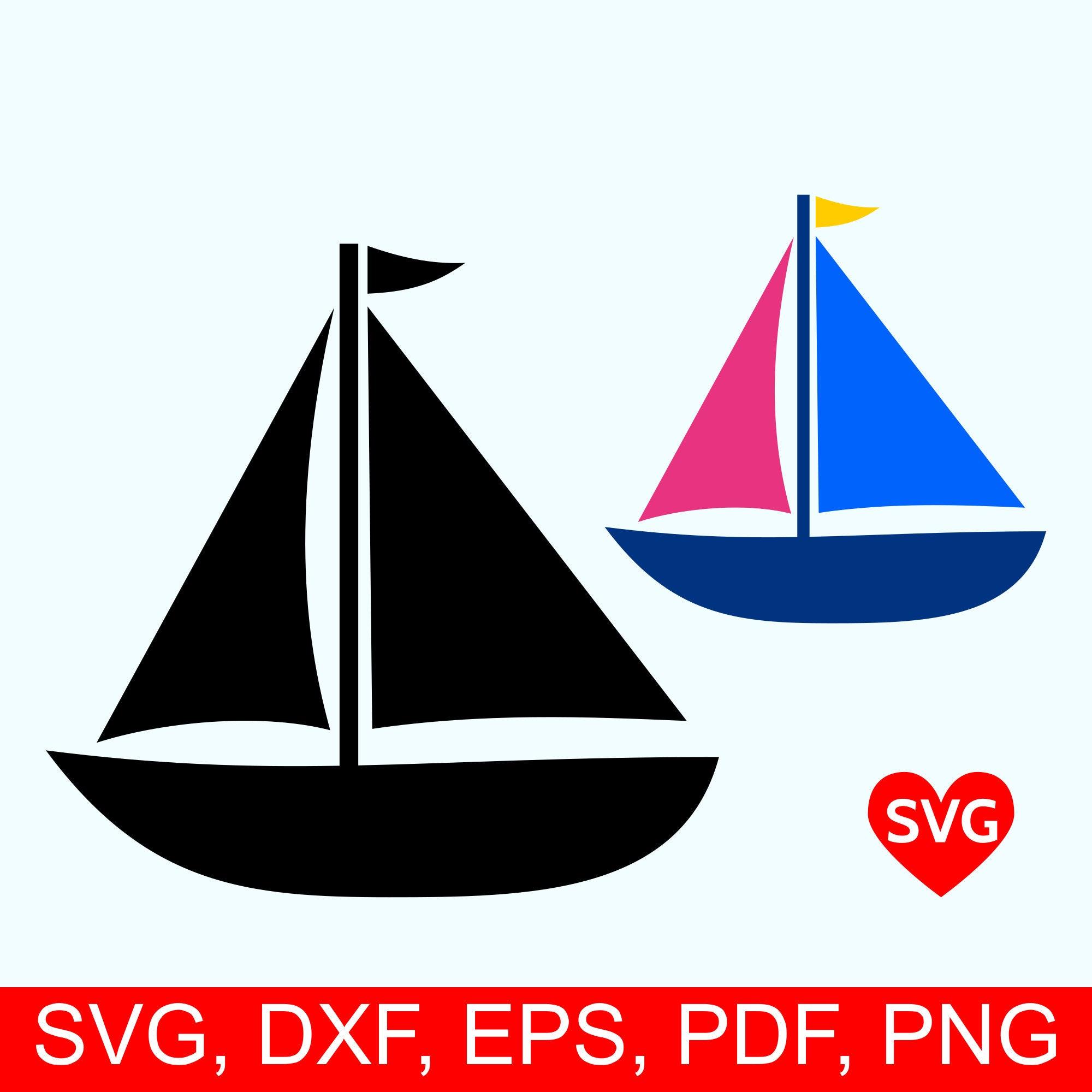 png royalty free download Sailboat svg. File sailing for cricut