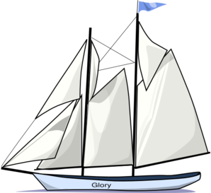 clip art freeuse stock Sailboat black and white. Yacht clipart outline