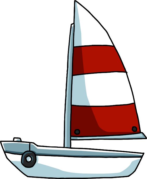 vector stock Sailboat Clip art