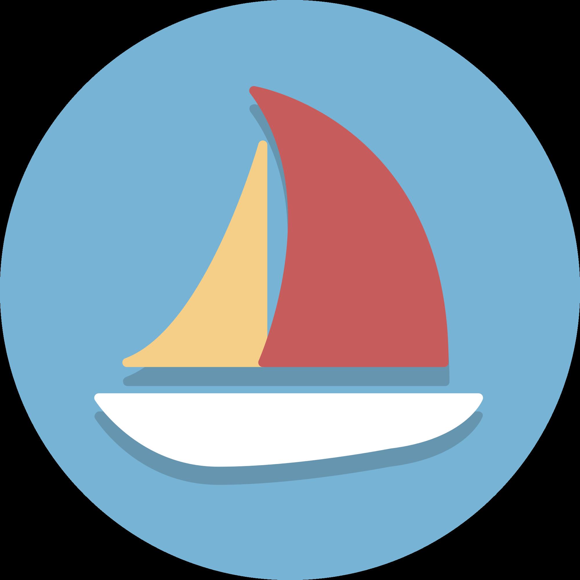 clip library download Sailboat svg. File circle icons wikimedia