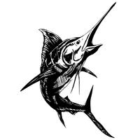 vector freeuse Free art downloads . Sailfish vector