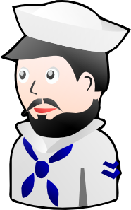 vector freeuse library Sailor clipart. Toy clip art at.