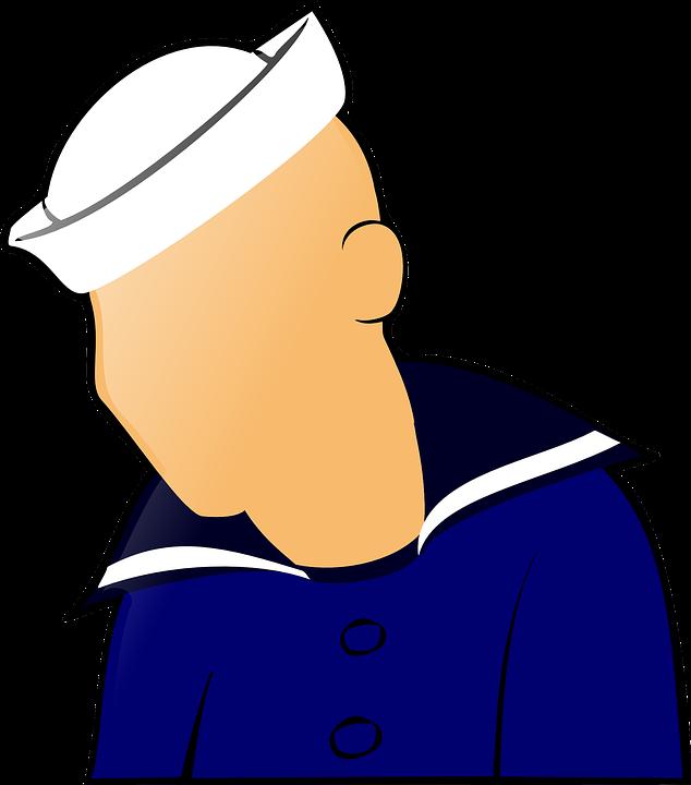 svg transparent download Sailor clipart. Man free on dumielauxepices.