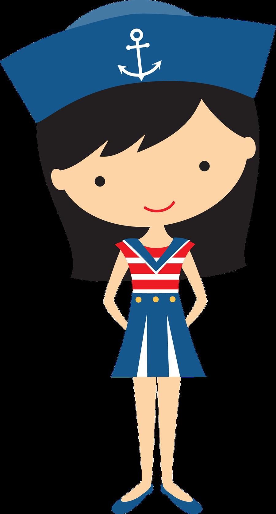banner download Sailor clipart. Black haired girl bottle.