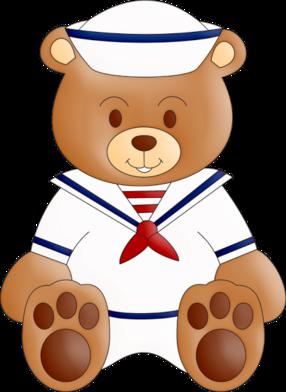 vector transparent stock sailor clipart teddy bear #47673997