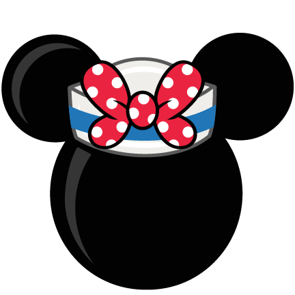banner library Mouse Head With Sailor Hat Freebies Free SVG files for scrapbooking