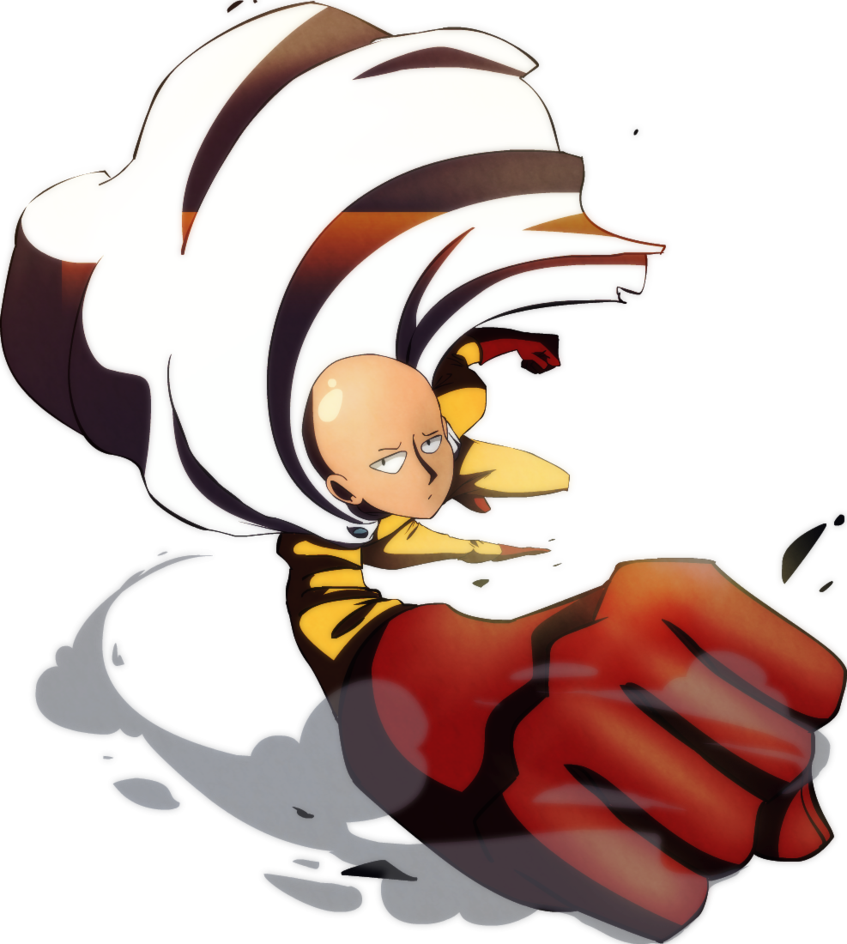 svg royalty free One Punch Man by s