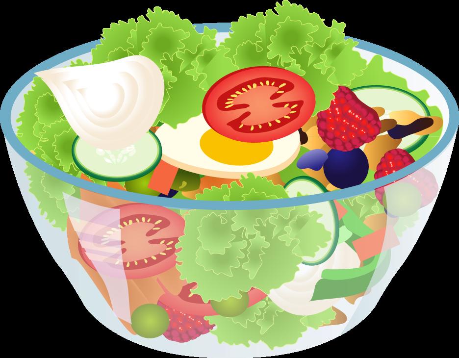 svg free Jpg pinterest clip art. Salad clipart