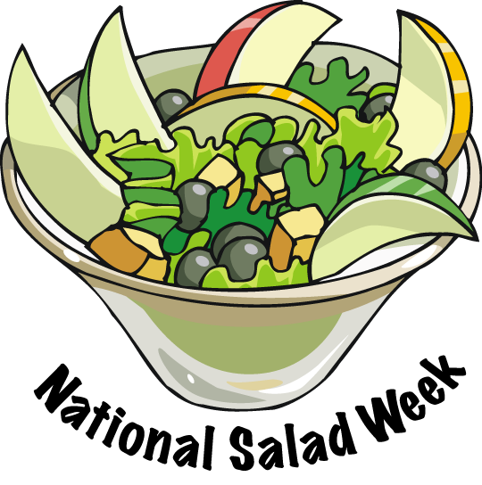 library Salad Clipart