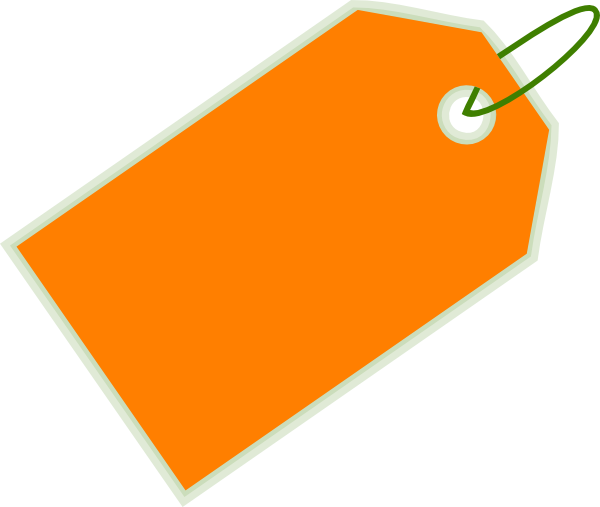 svg free Orange Sale Tag Clip Art at Clker