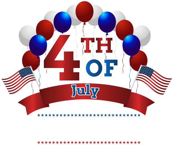 jpg transparent stock Happy independence day th. Fourth of july clipart free