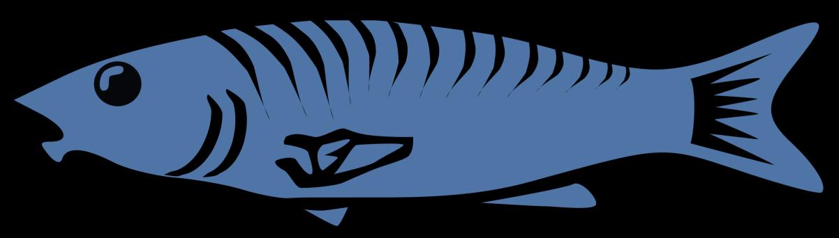 banner transparent Alaska clipart salmon fish. Clip art liftarn blue.