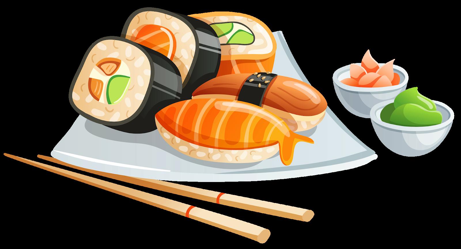 png royalty free Menu t philadelphia roll. Sushi clipart sushi bar