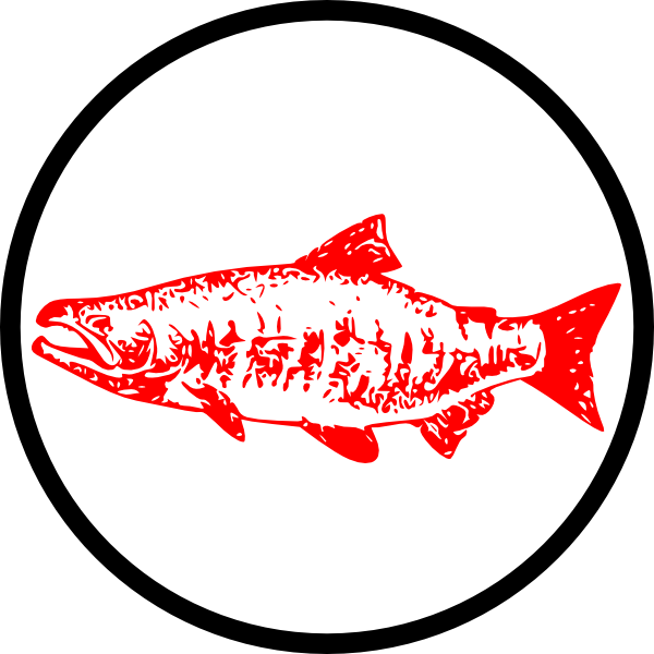 vector royalty free Royalty free clipart. Salmon clip art at