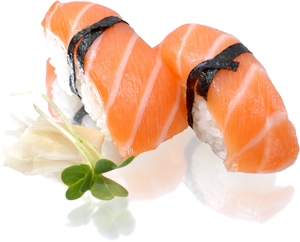 clip art freeuse library New light and healthy. Salmon transparent sushi