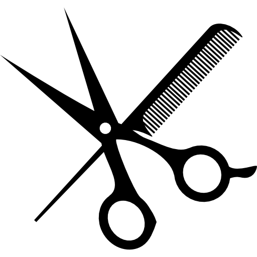 vector free haircut clipart men's salon #79483017
