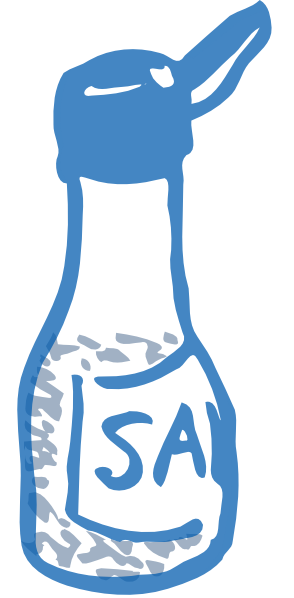 clip art transparent Salt Clip Art at Clker
