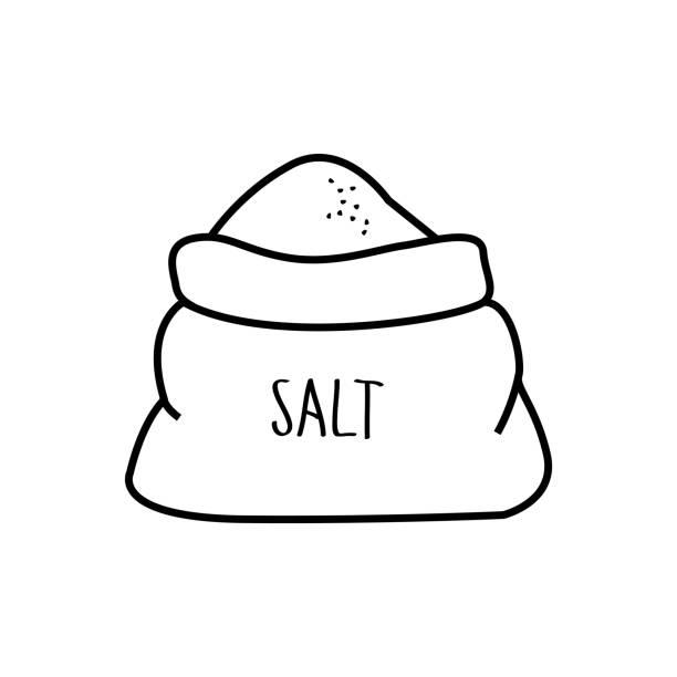 vector freeuse Salt vector. Icon illustration clipart station.