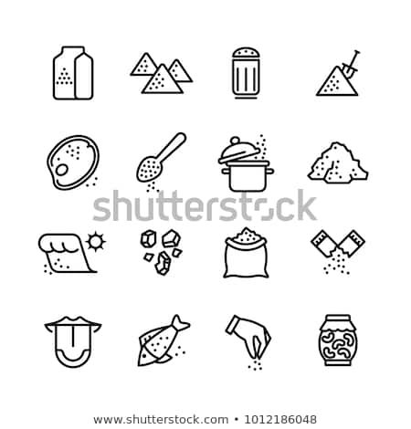 picture free download Line icons set illustration. Salt vector